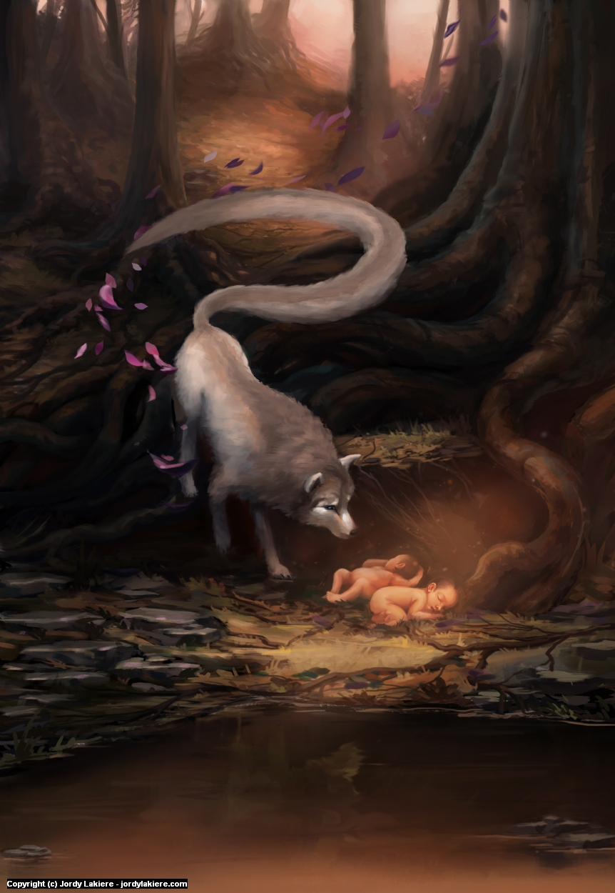 Maternity: Romulus & Remus Artwork by Jordy Lakiere