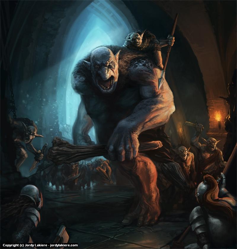 Troll Siege Artwork by Jordy Lakiere
