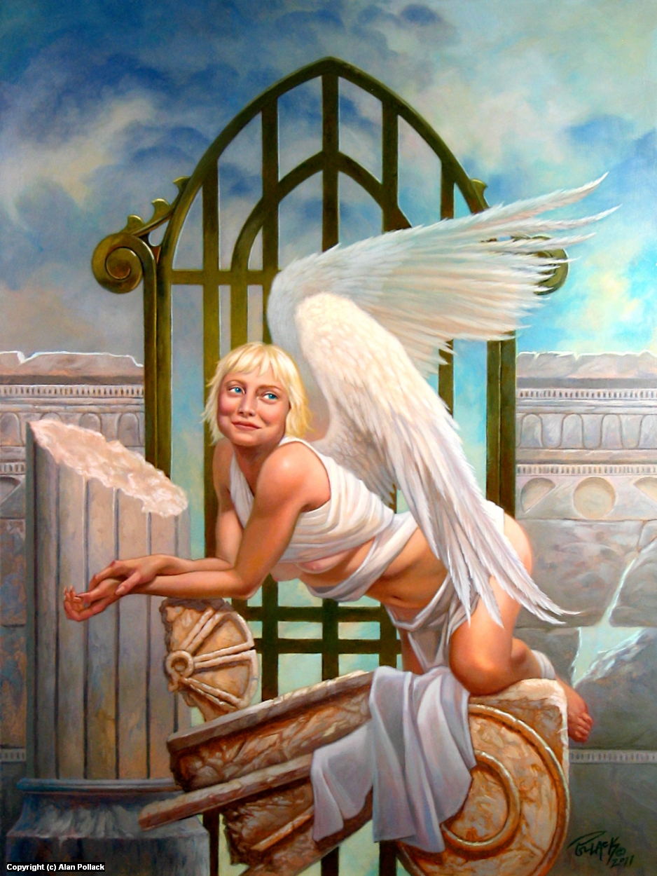 Angel Baby Artwork by Alan Pollack