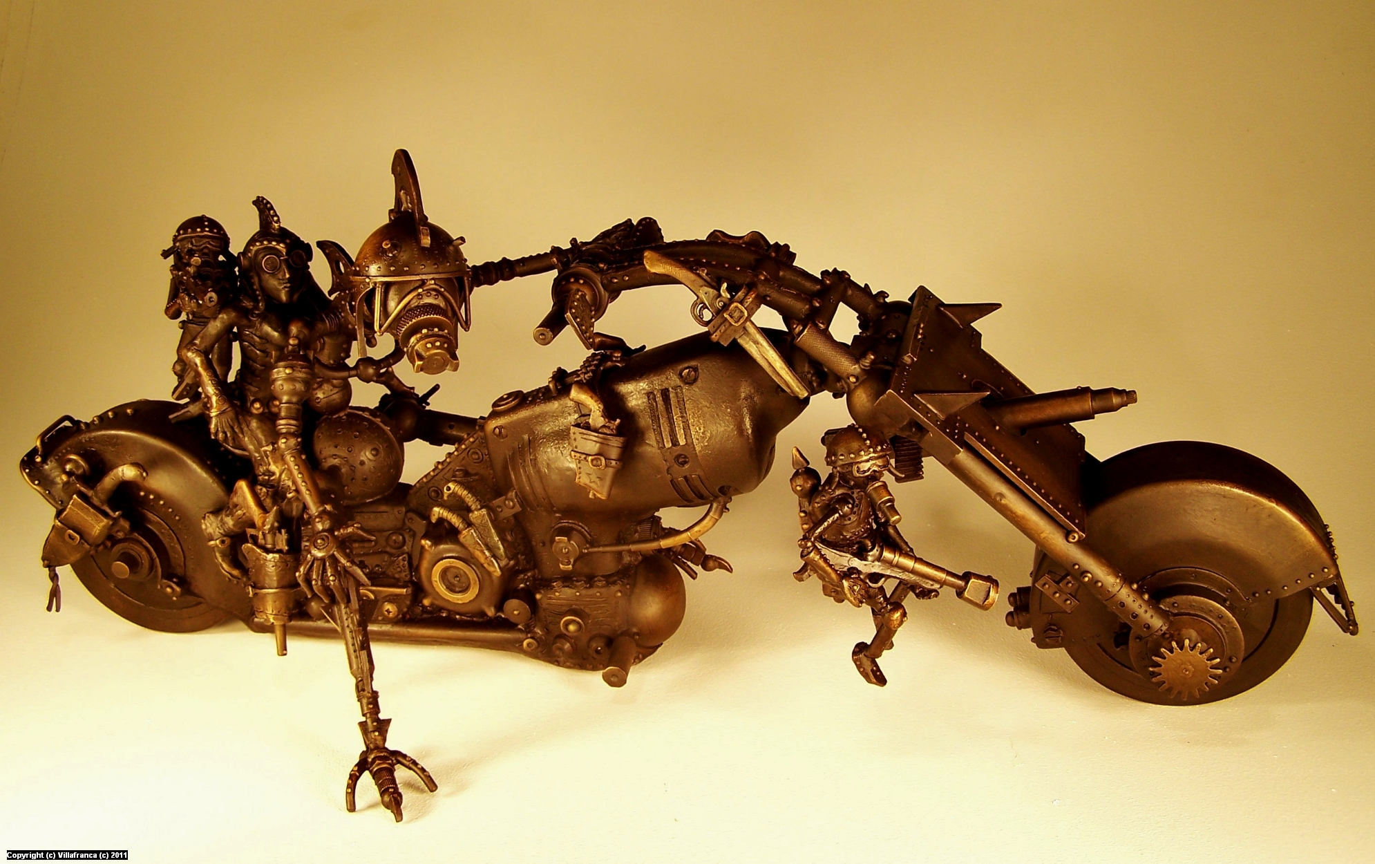 Robo-Bike  Artwork by Vincent Villafranca
