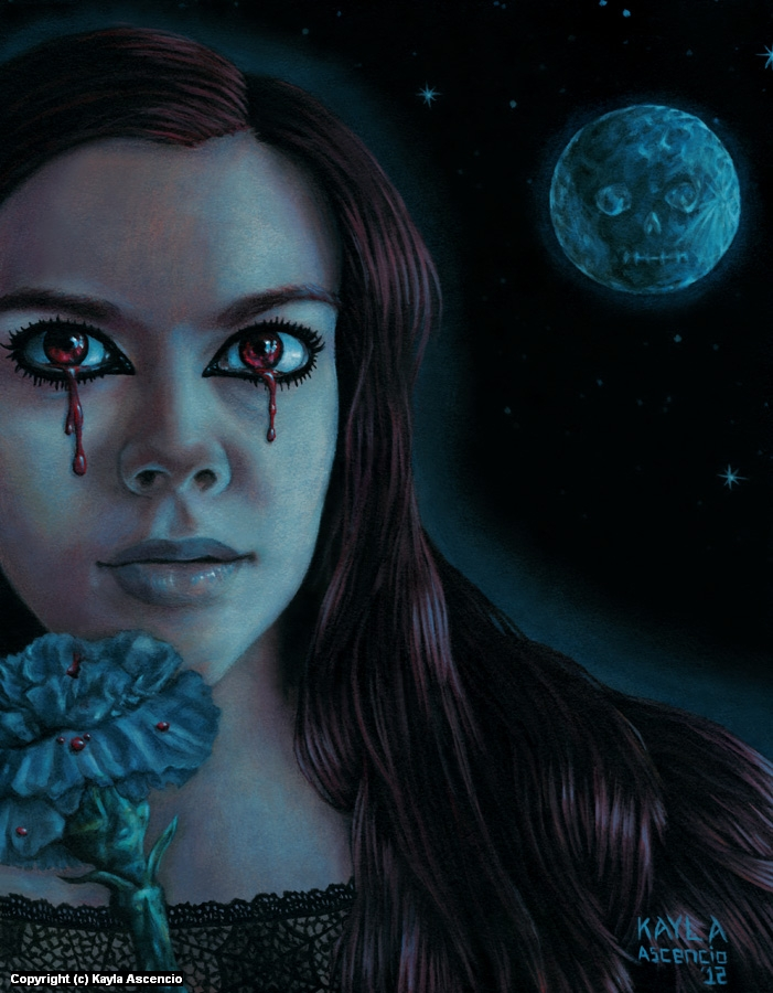 Banshee Artwork by Kayla Ascencio