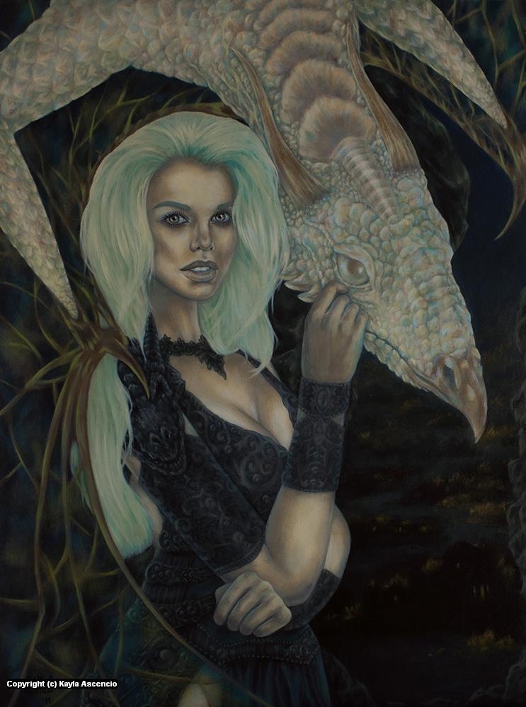 Embers  Artwork by Kayla Ascencio
