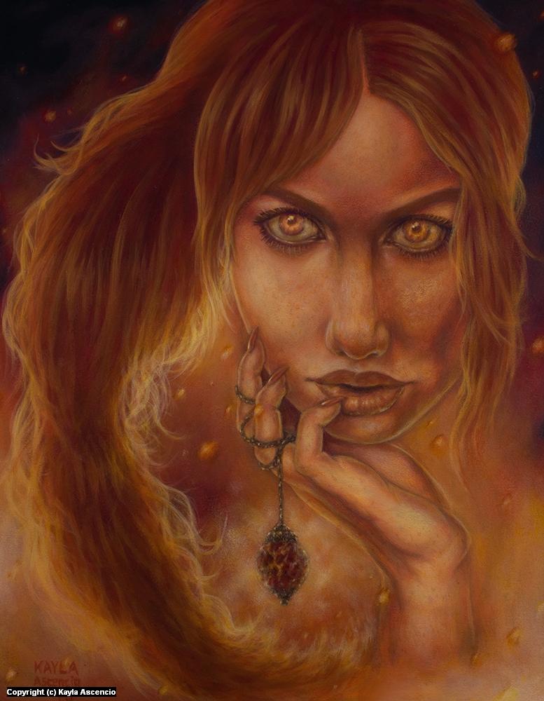 Pyre Artwork by Kayla Ascencio