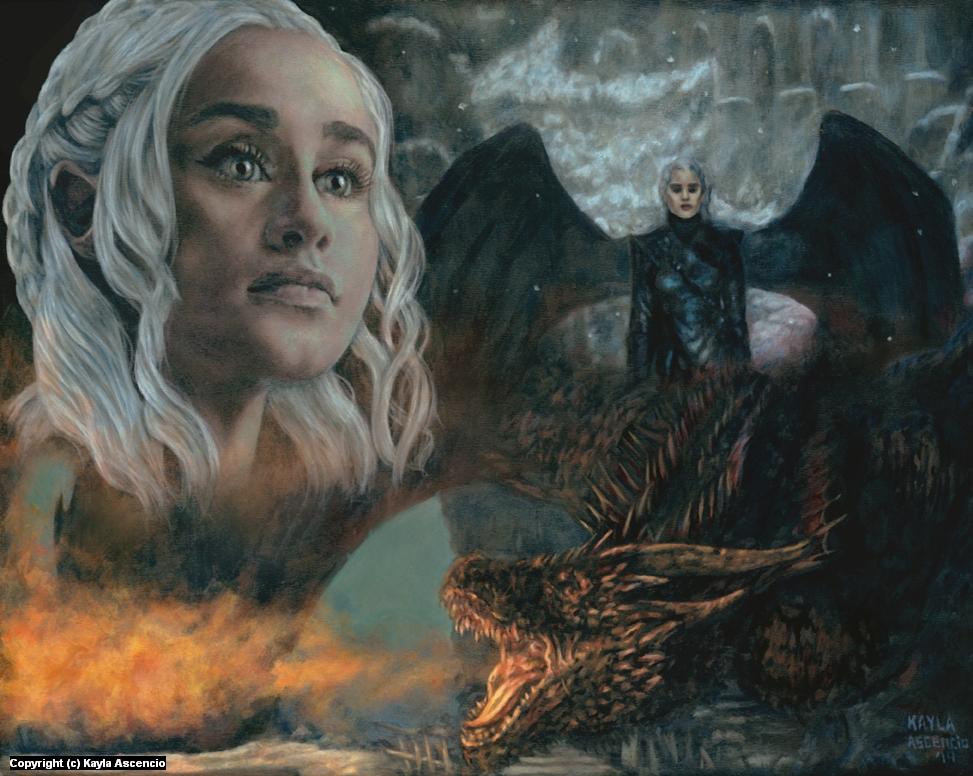 The Last Dragon Artwork by Kayla Ascencio