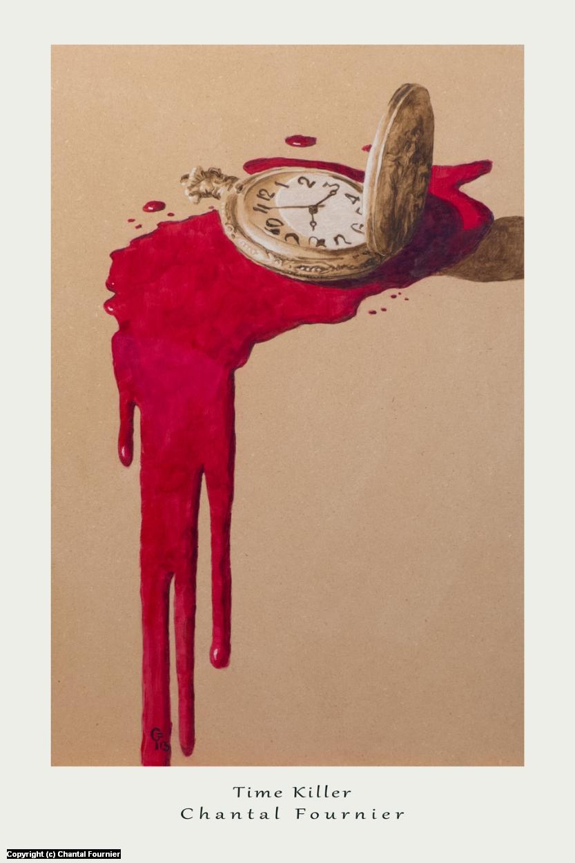 Time Killer Artwork by Chantal Fournier