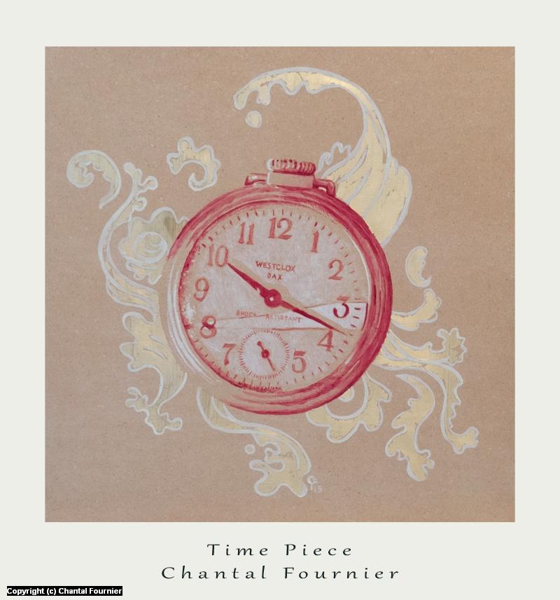Time Piece Artwork by Chantal Fournier