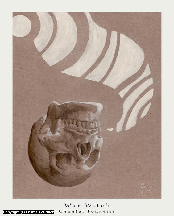War Witch Artwork by Chantal Fournier