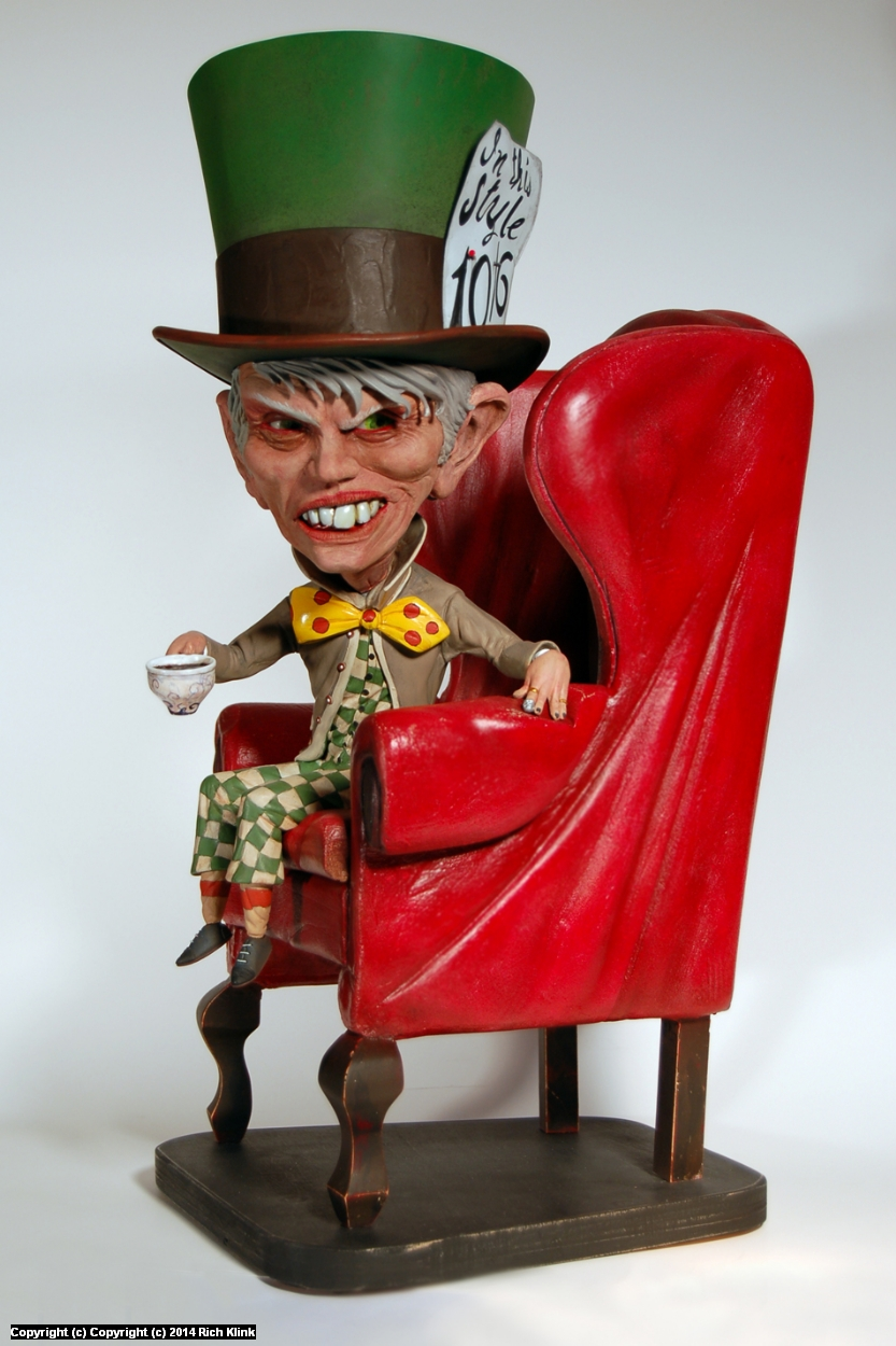 The Mad Tea Party - The Hatter Artwork by Rich Klink