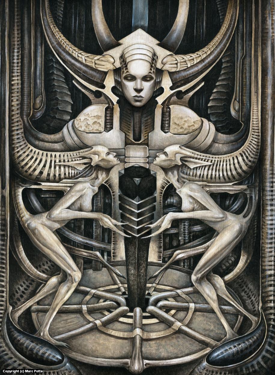 Deus ex Machina Artwork by Marc Potts