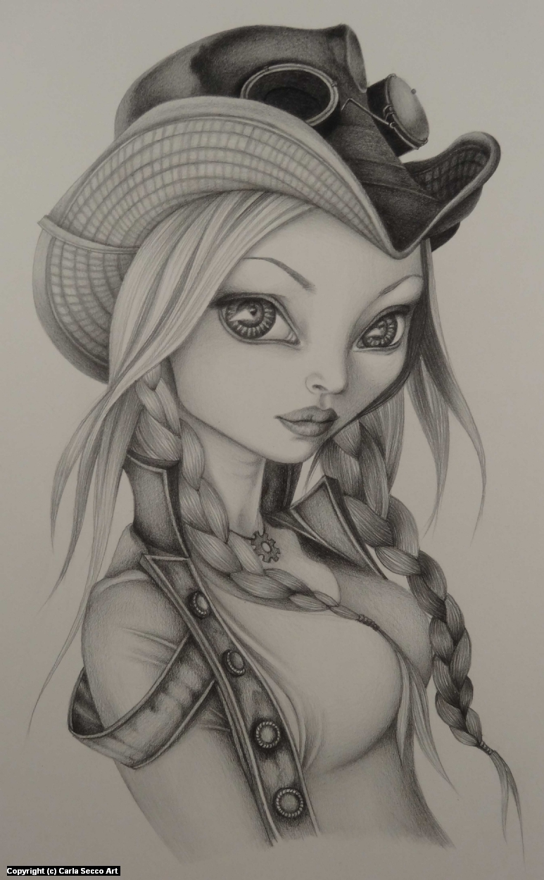 Kato Artwork by Carla Secco
