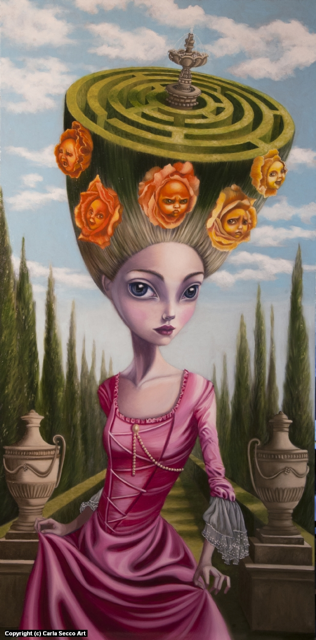 Pensieri Artwork by Carla Secco