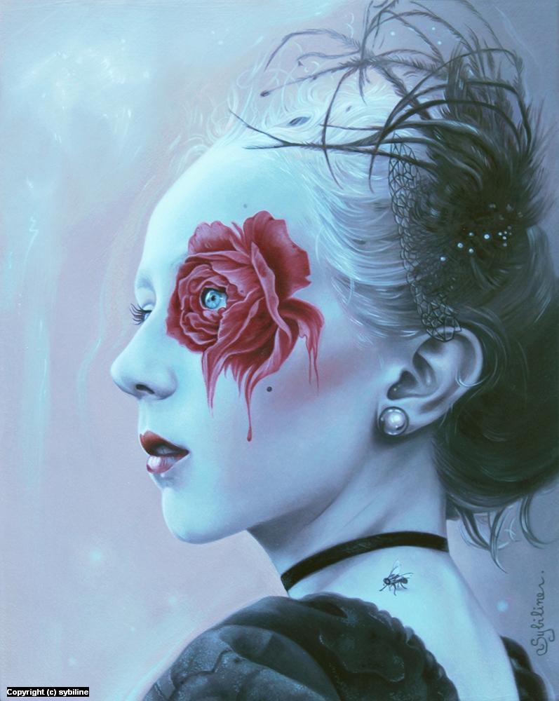 Bloody Desire Artwork by . Sybiline