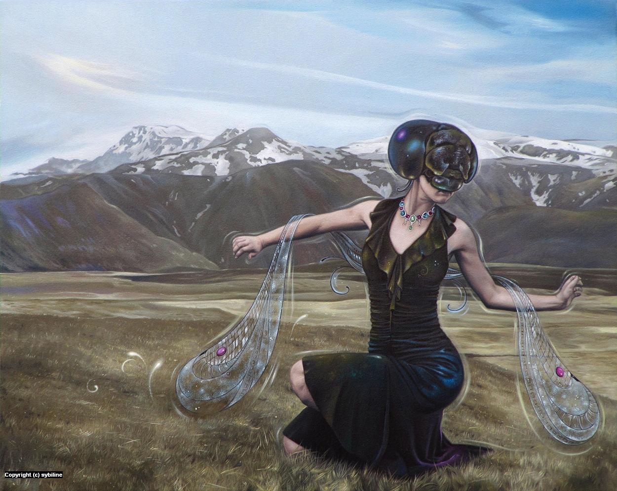 Demoiselle Artwork by . Sybiline