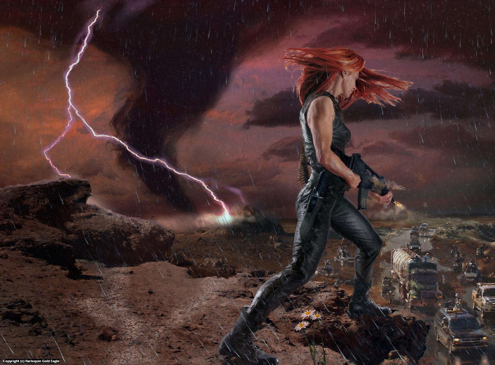 Deathlands:  Nemesis Artwork by Dave Seeley