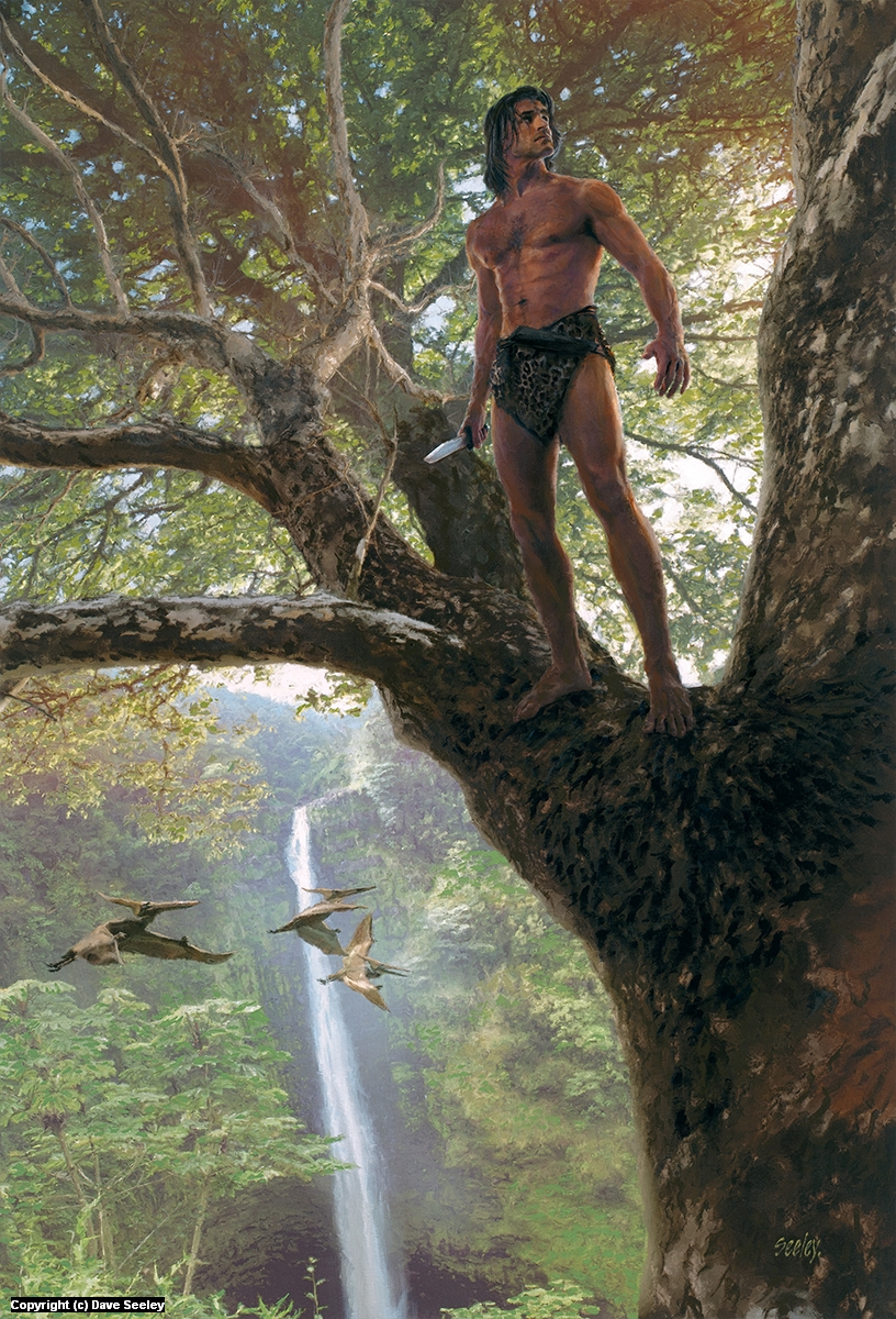 Tarzan of the Apes Artwork by Dave Seeley