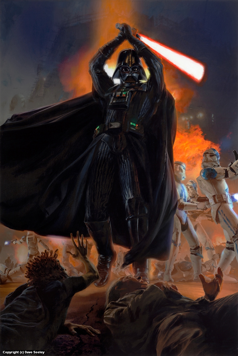 Star Wars: Darth Vader and the 501st Artwork by Dave Seeley