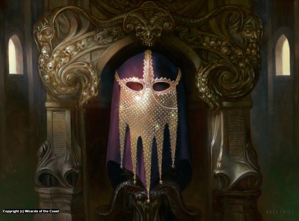 The Chain Veil Artwork by Volkan Baga