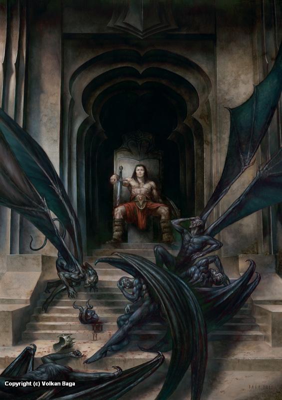 Thief of Thrones Artwork by Volkan Baga