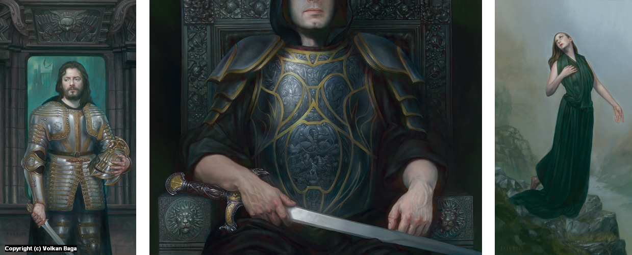 The Words of Morgoth Artwork by Volkan Baga