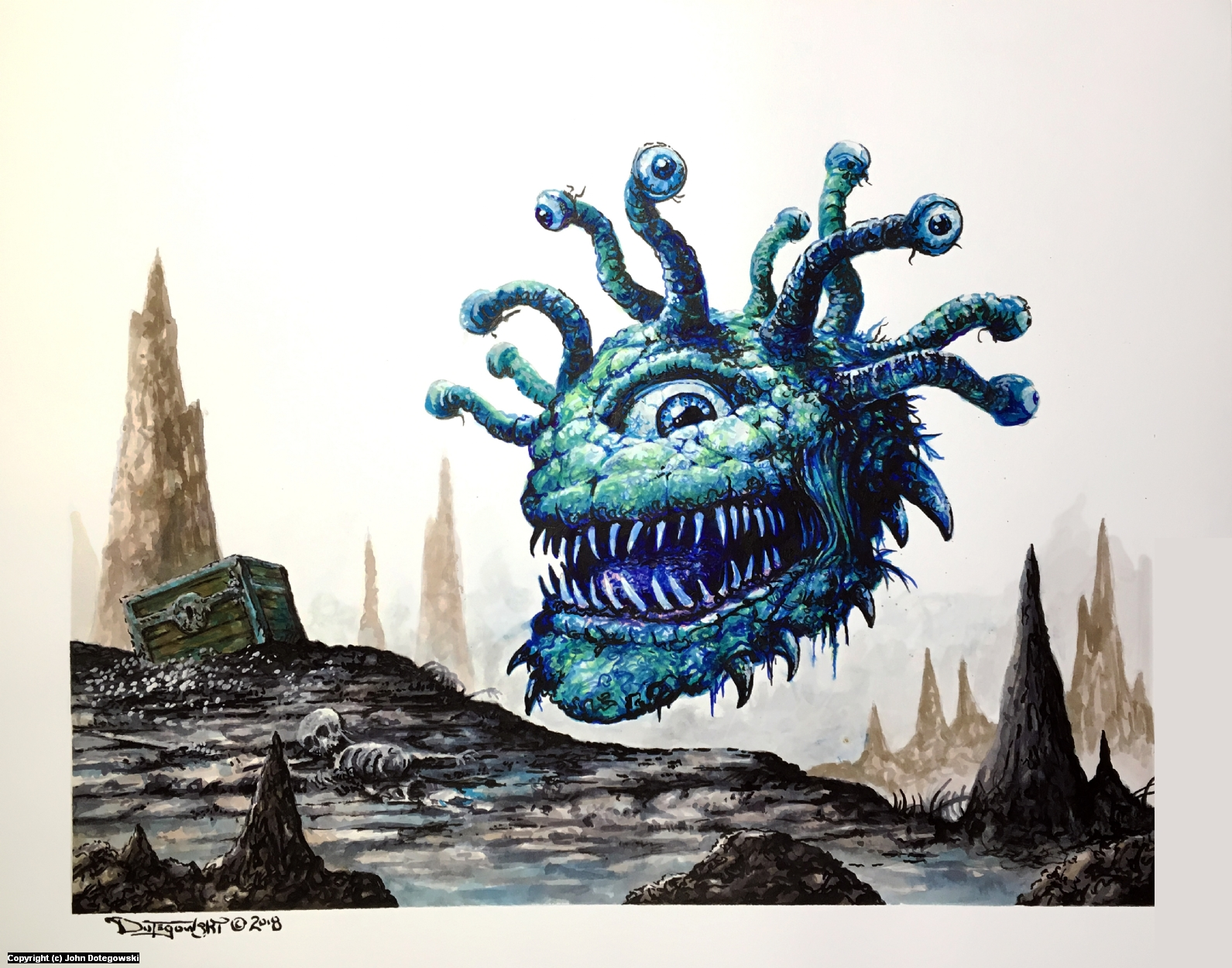 Beholder Artwork by John Dotegowski