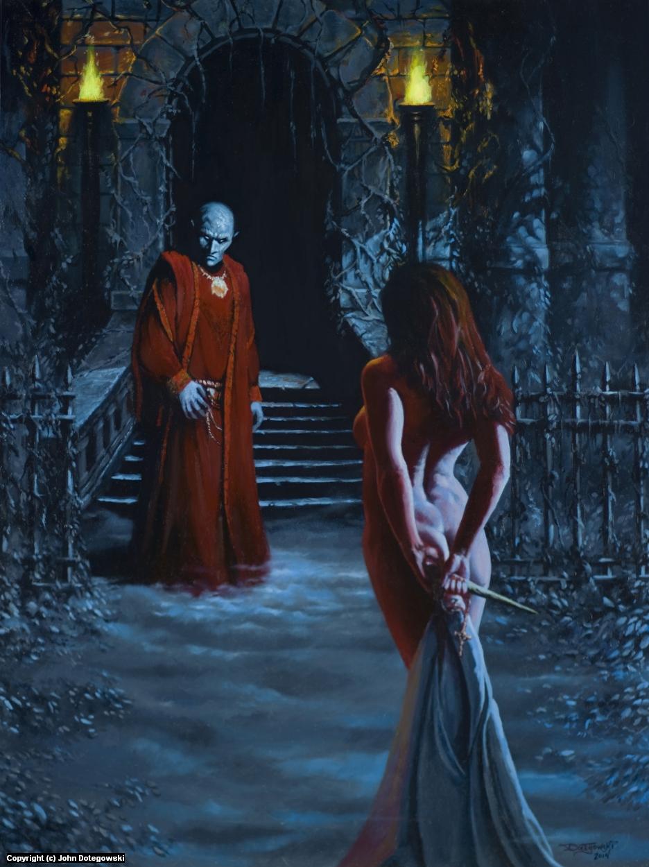 Vampire Bait Artwork by John Dotegowski