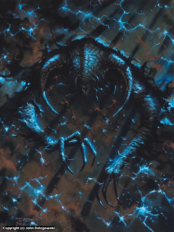 Storm Spectre Artwork by John Dotegowski