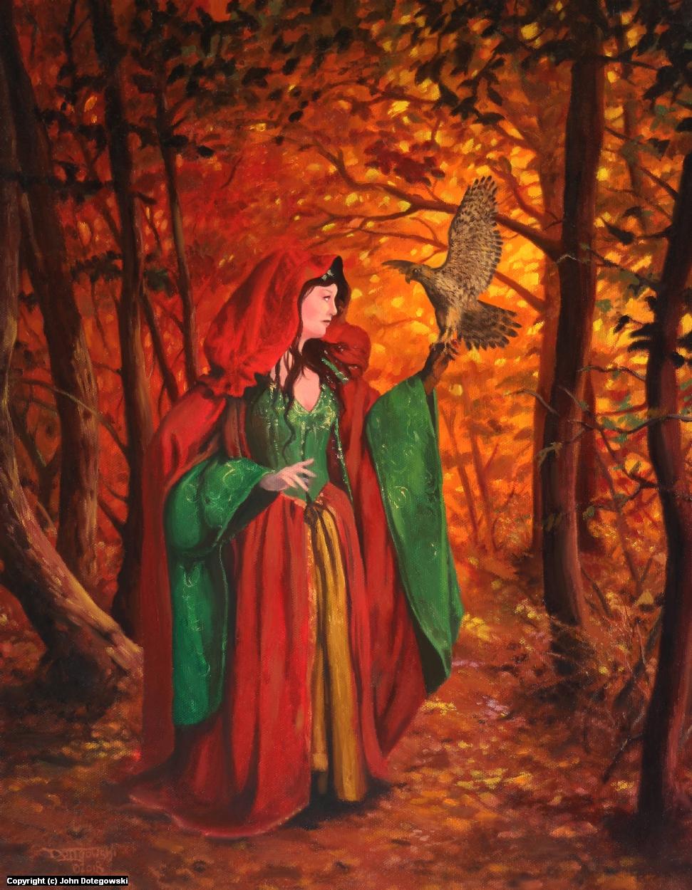 Autumn Sentinel Artwork by John Dotegowski
