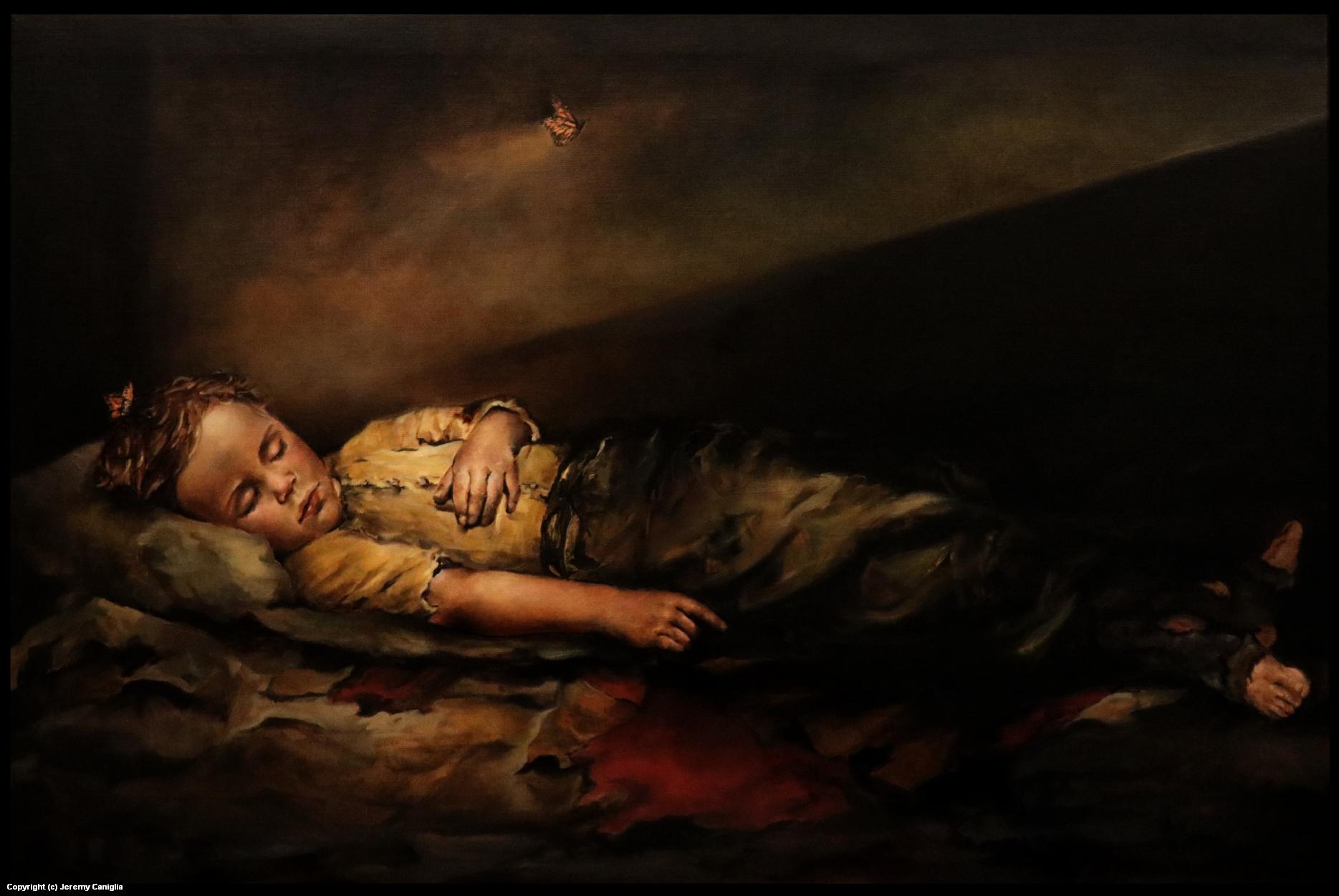 The Sick Child  Artwork by Jeremy  Caniglia