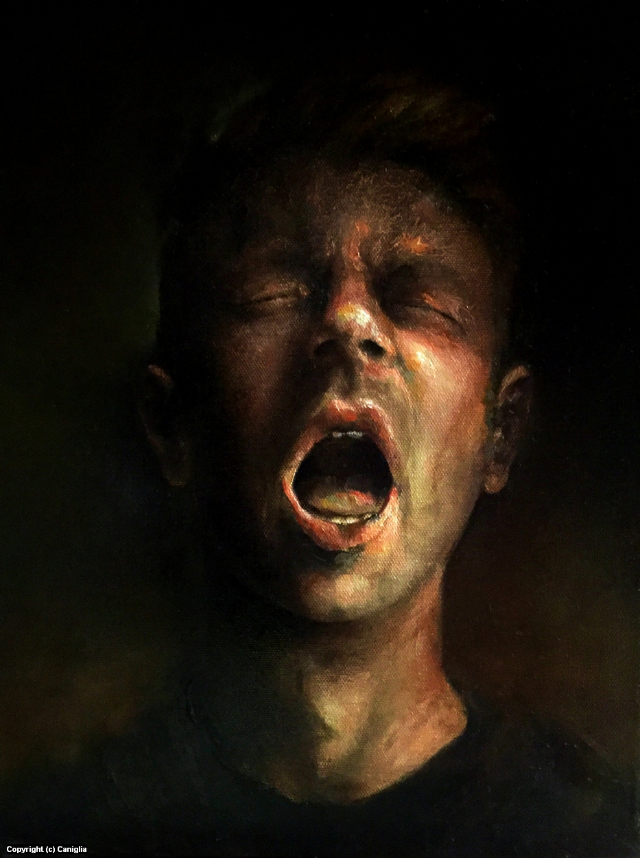 Daylights Final Flicker_Self Portrait  Artwork by Jeremy  Caniglia