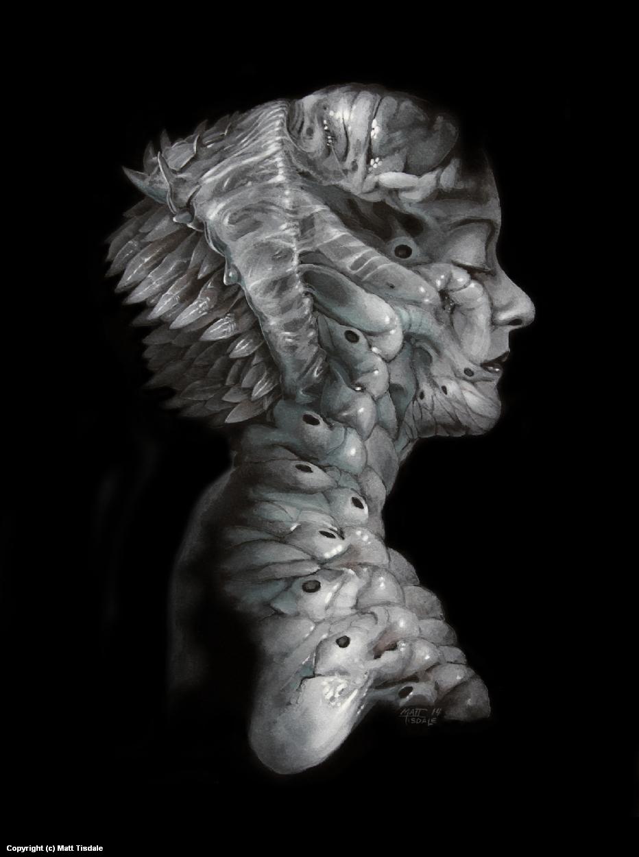 Alien Skin Artwork by Matt Tisdale