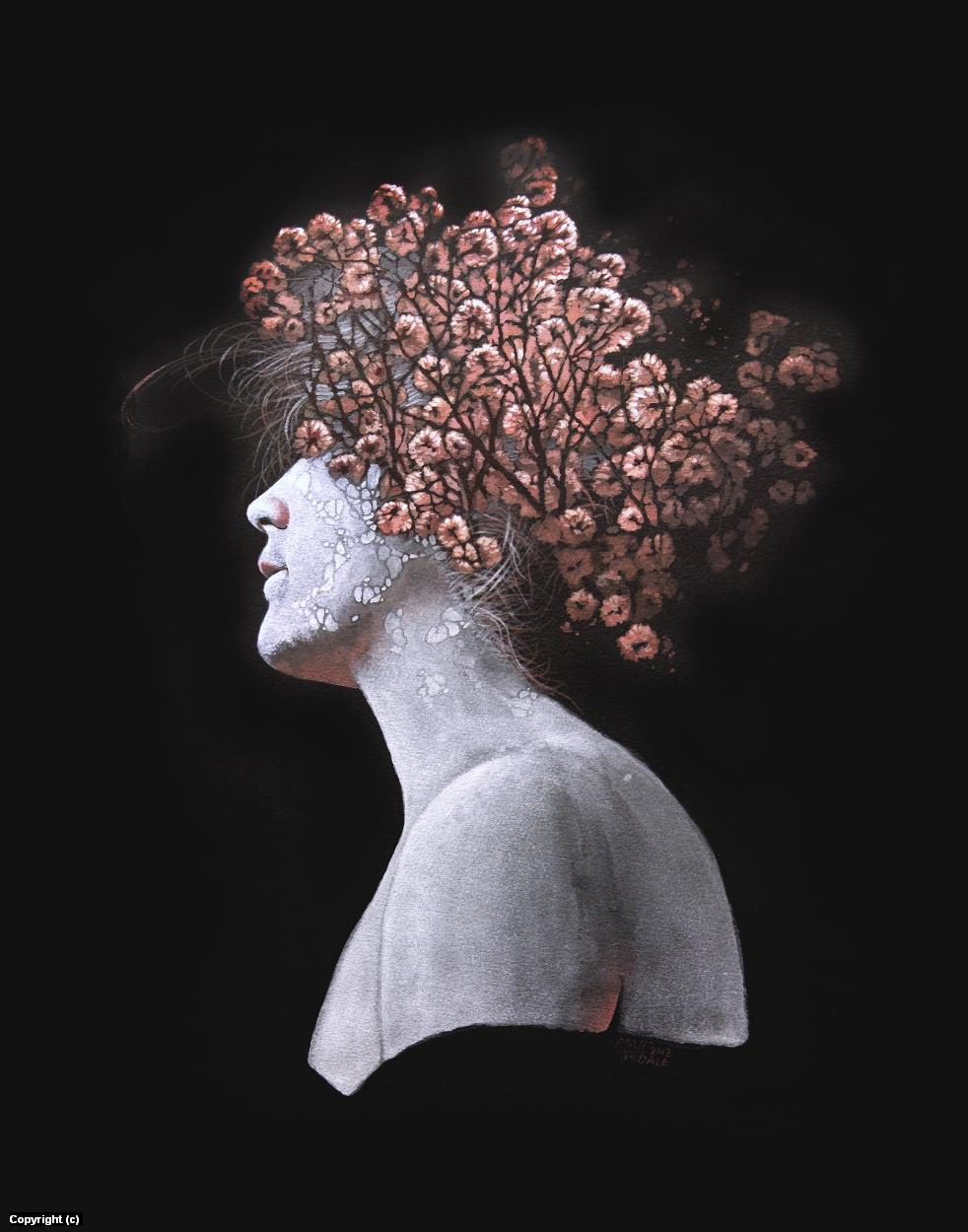 Flower Girl Artwork by Matt Tisdale