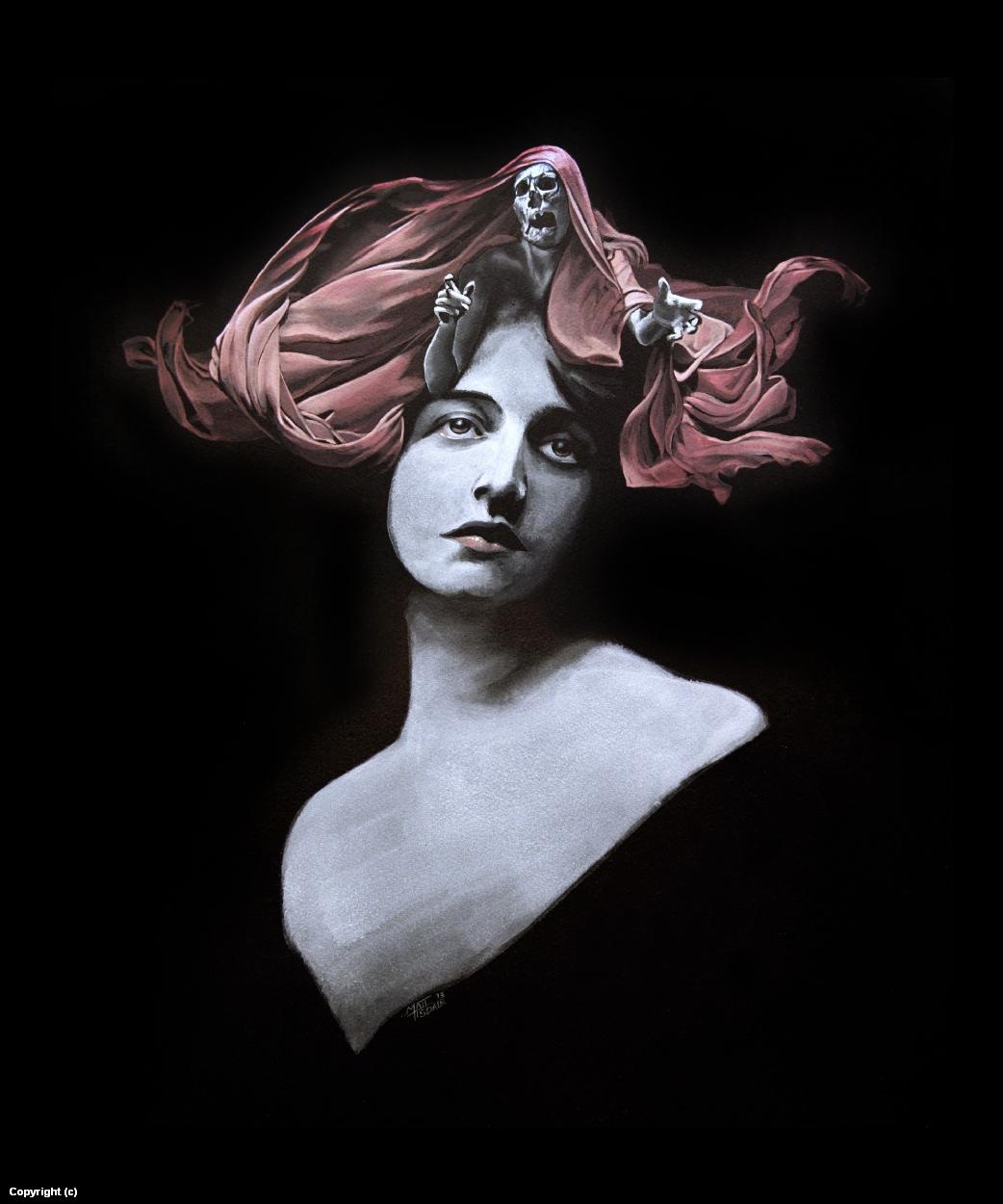 Death's Head Artwork by Matt Tisdale