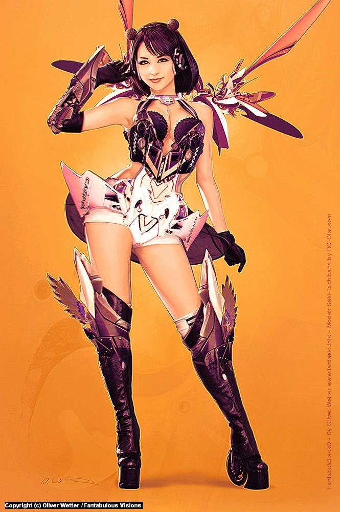Fantabulous-RQ #1: S. Tachibana Artwork by Oliver Wetter