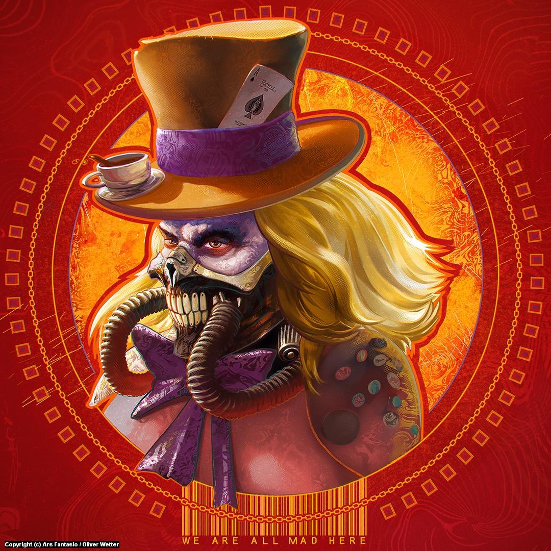 Mad Immortan Hatter Joe Artwork by Oliver Wetter