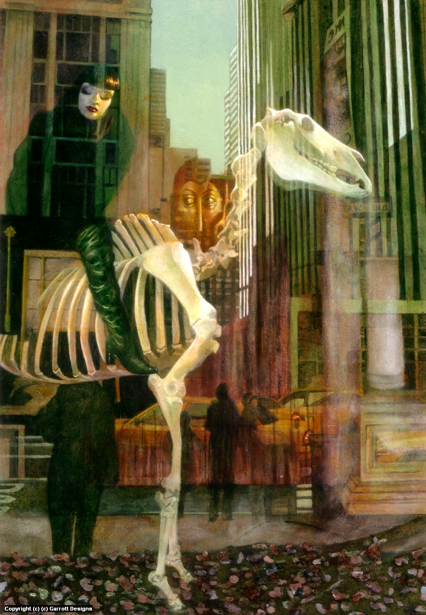 She Rode a Pale Horse  Artwork by Garette Johnson