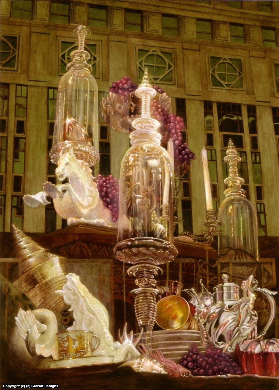 The Feast  Artwork by Garette Johnson