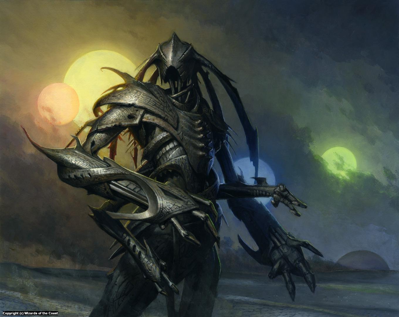 Etched Monstrosity Artwork by Steven Belledin