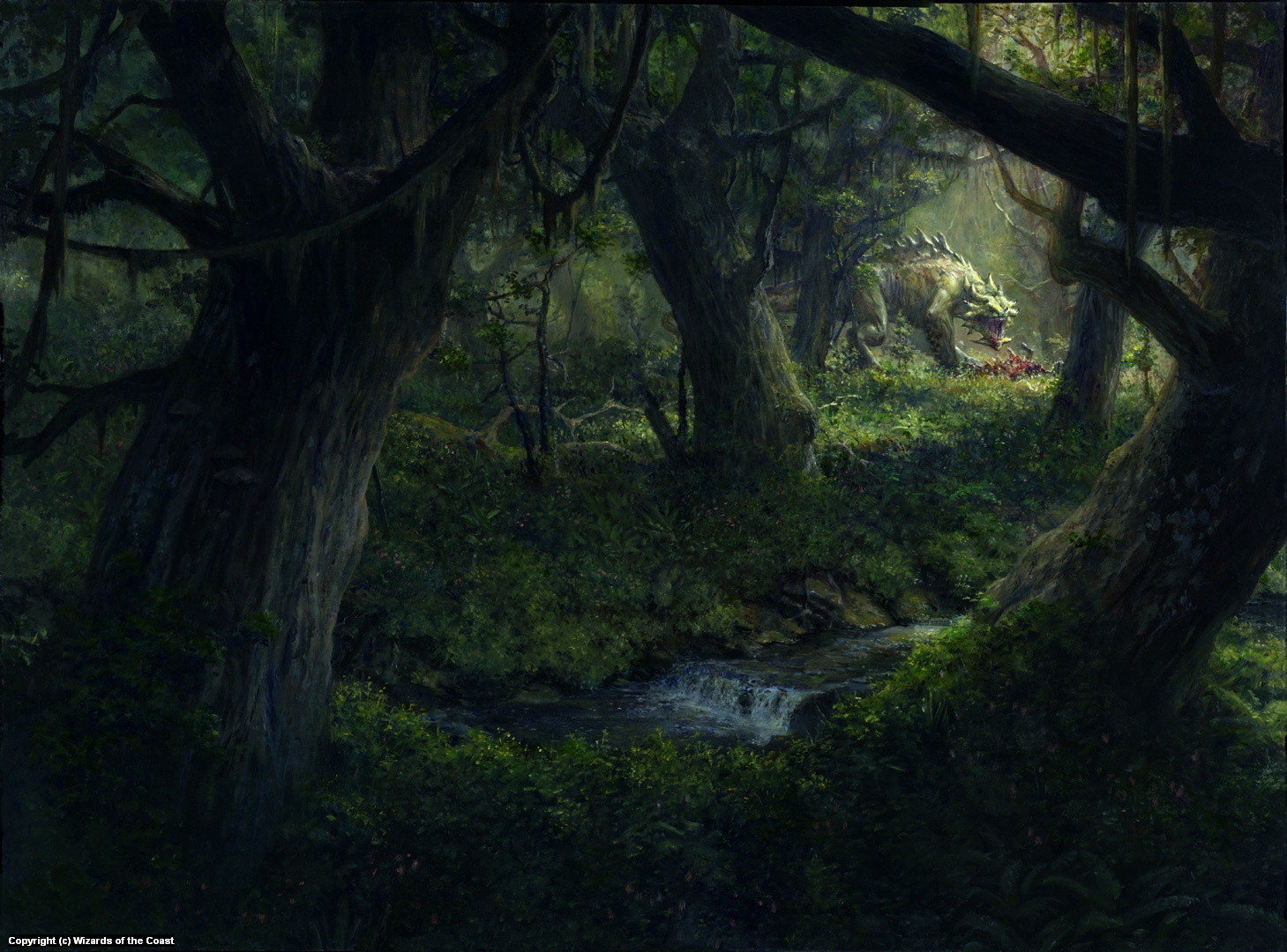 Krosa Woods Artwork by Steven Belledin