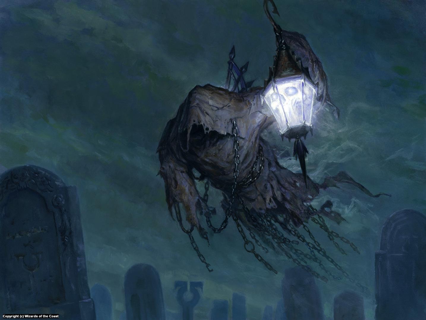 Searchlight Geist Artwork by Steven Belledin