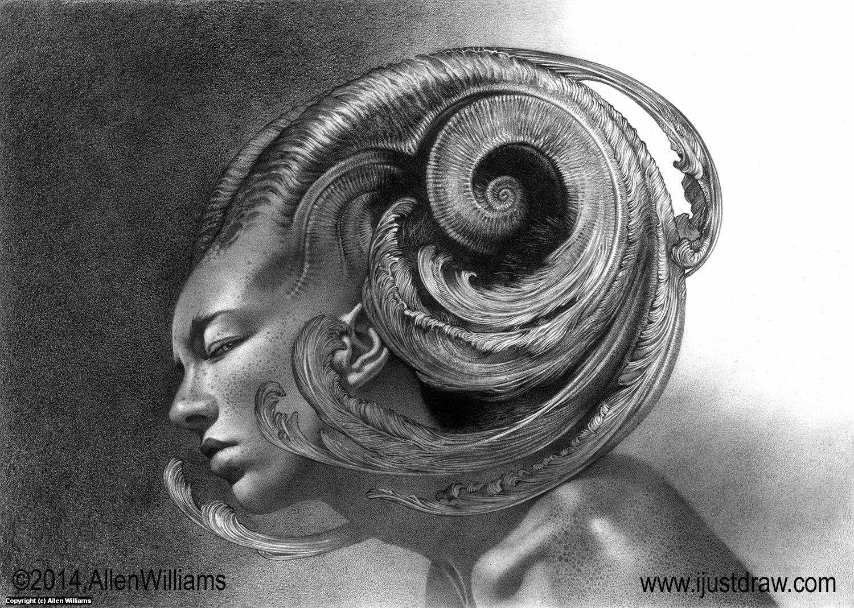 Her  Artwork by Allen Williams