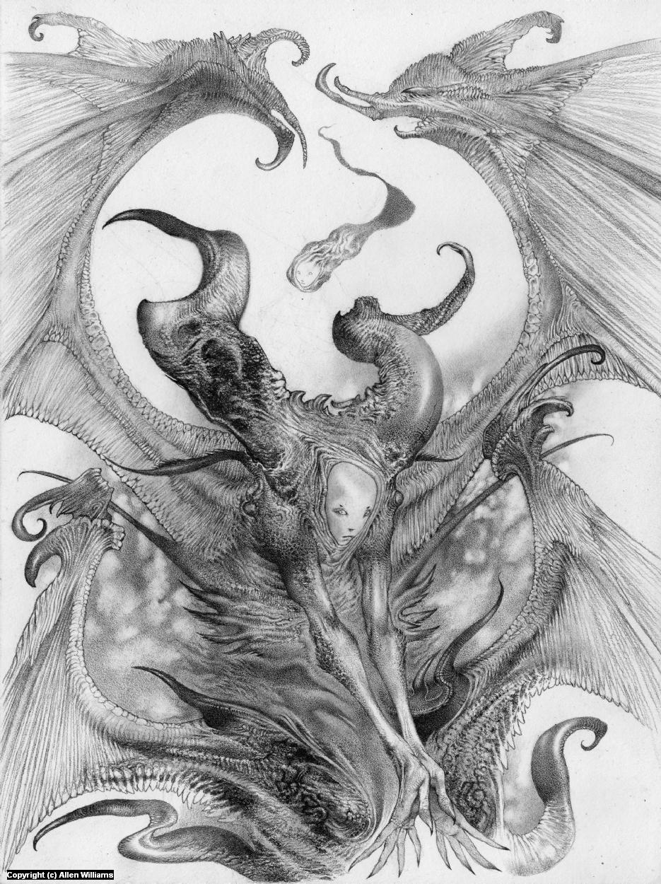Nemette Artwork by Allen Williams