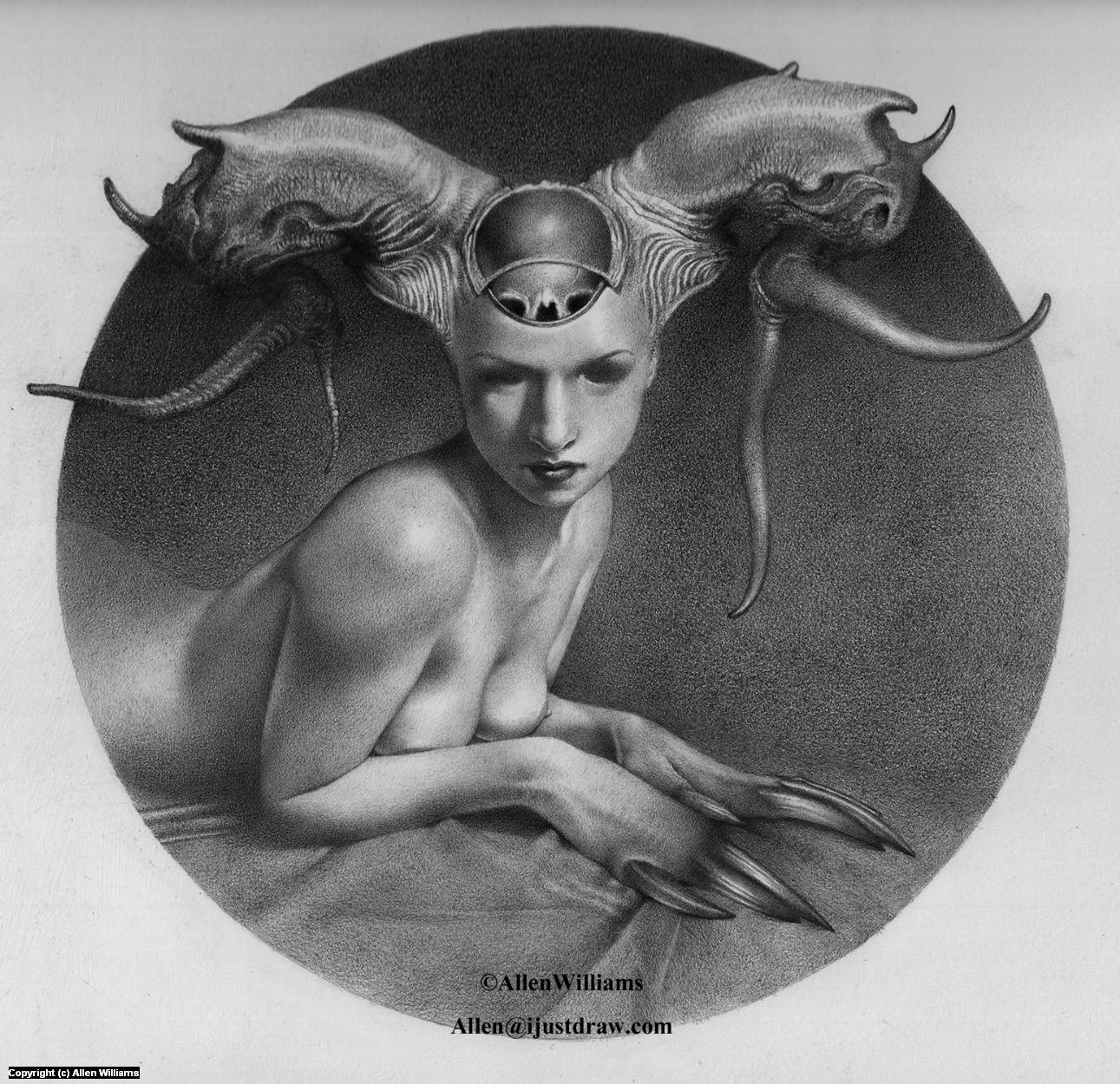 Sphynx Artwork by Allen Williams