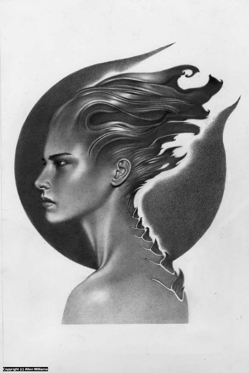 IronCaste Artwork by Allen Williams