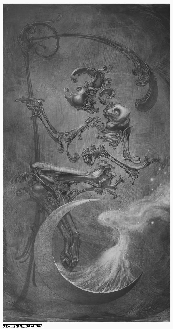 Occultation Artwork by Allen Williams