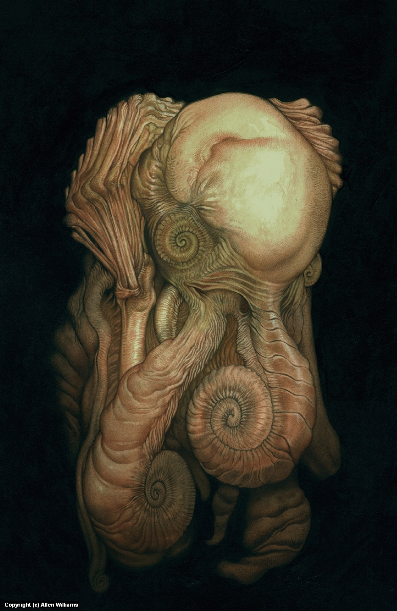 Nodule... Artwork by Allen Williams