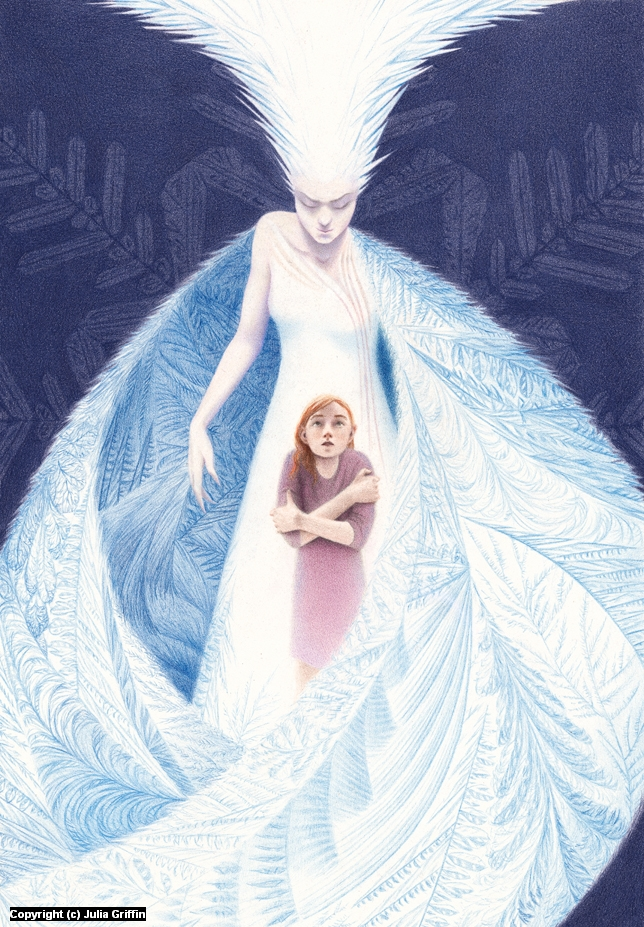 The Snow Queen Artwork by Julia Griffin