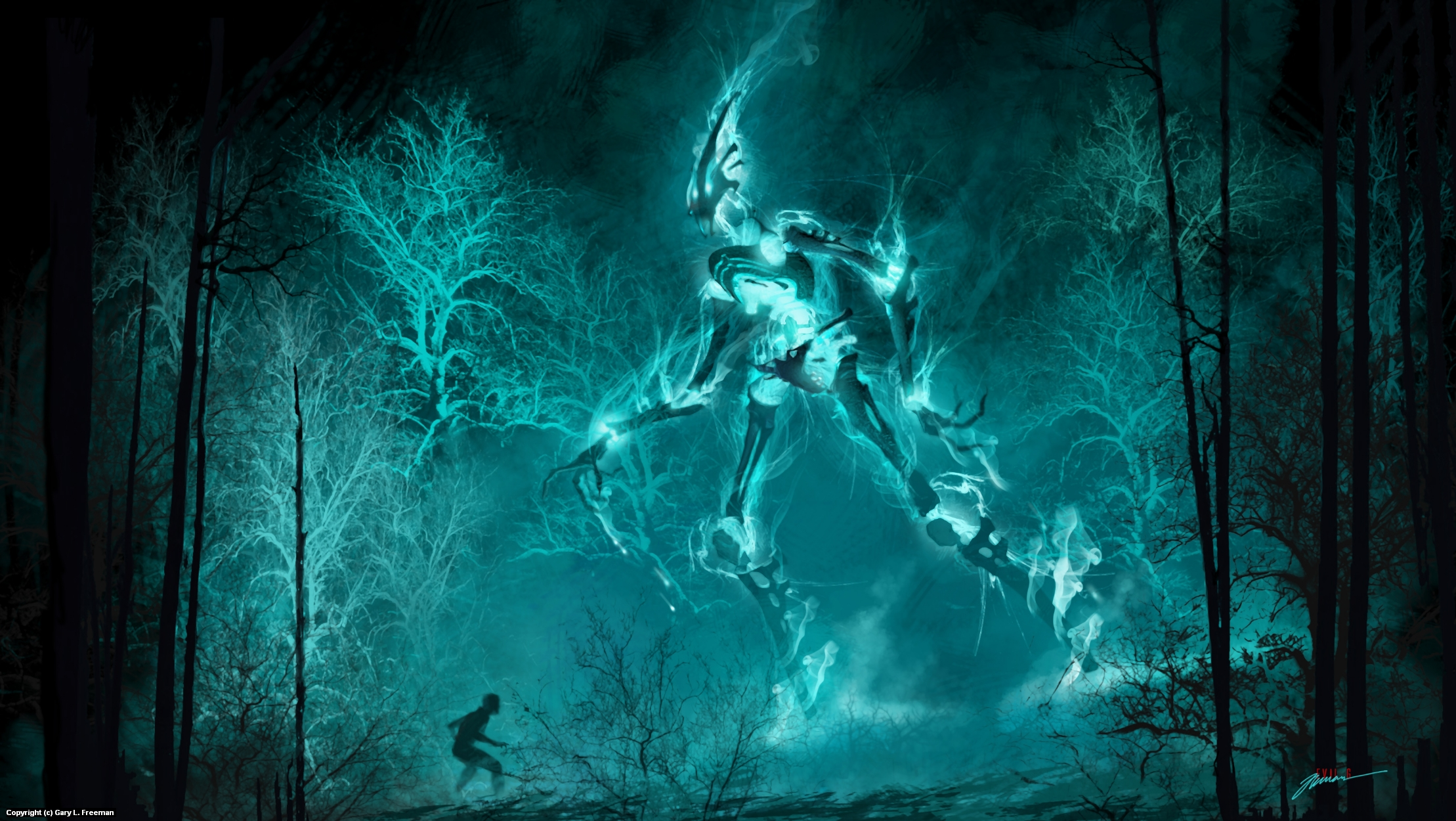 Specter Artwork by Gary Freeman