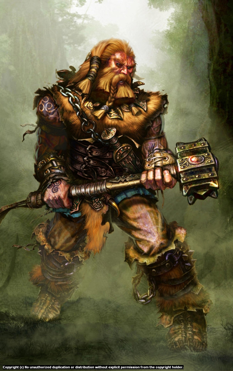 Barbarian Concept Art Artwork by Gary Freeman