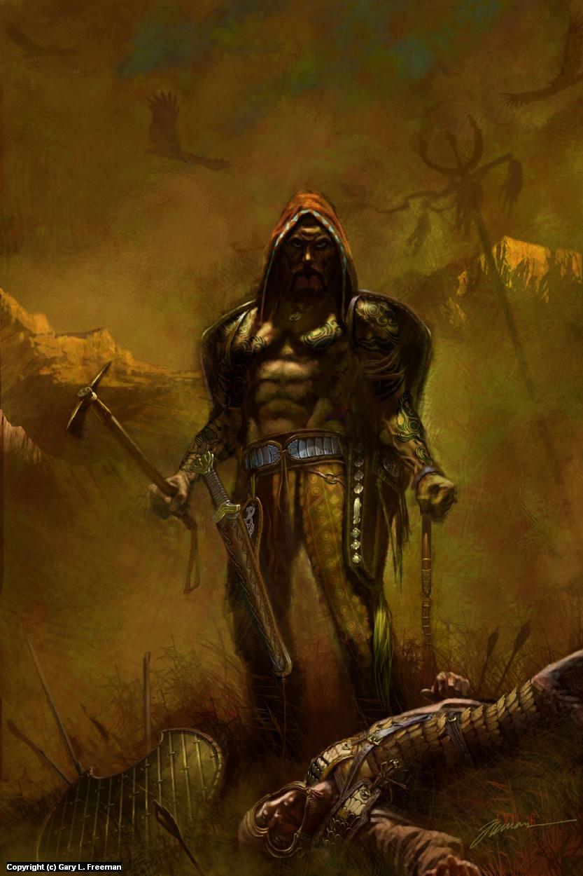 The Scythian Artwork by Gary Freeman