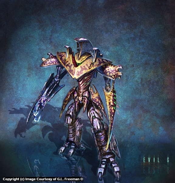 Creature Concept Art Artwork by Gary Freeman